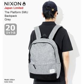 ニクソン nixon リュック ザ プラットフォーム SMU バックパック グレー 日本限定(The Platform SMU Backpack Grey Japan Limited NC2883070)