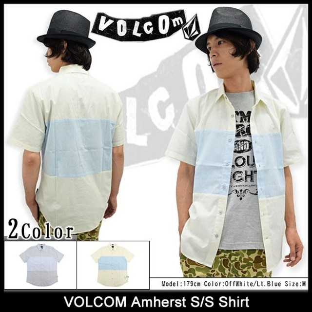 ボルコム VOLCOM シャツ 半袖 メンズ アマースト(VOLCOM Amherst S/S Shirt カジュアルシャツ トップス メンズ 男性用 A0421500)