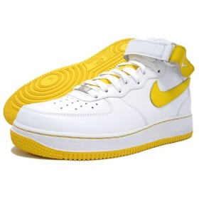 NIKE(ナイキ) AIR FORCE 1 MID 07 White/Varsity Maze icons Exclusive