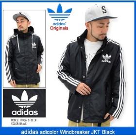 アディダス adidas ジャケット メンズ アディカラー ウィンドブレーカー ブラック オリジナルス(adicolor Windbreaker JKT 男性用 AY7928)