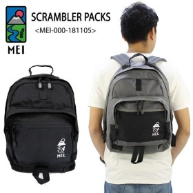 メイ MEI スクランブラーパック バックパック リュックサック MEI-000-181105 SCRAMBLER PACKS  デイパック [DD]