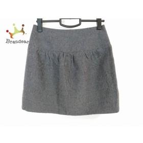 ドレステリア DRESSTERIOR ミニスカート サイズ36 S レディース 美品 グレー 新着 20190601