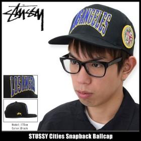 ステューシー STUSSY キャップ 帽子 Cities Snapback Cap(スナップバック メンズ・男性用 131603)