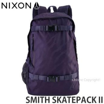 プレゼント対象商品 ニクソン スミス スケートパック 2NIXON SMITH SKATEPACK II 国内 リュック スケボ PCスリーブ カラー:DeepPurple サイズ:21L