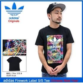 アディダス adidas Tシャツ 半袖 メンズ ファイアーワーク ラベル チャイニーズニューイヤー オリジナルス(Firework Label S/S Tee AJ7009)