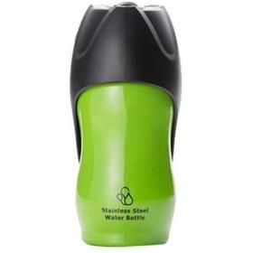 ルークラン ROOP ペット用水筒 ステンレスボトル Mサイズ 500ml グリーン (1131139)