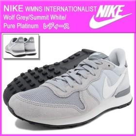 ナイキ NIKE レディース 女性用 ウーマンズ インターナショナリスト Wolf Grey/Summit White/Pure Platinum(INTERNATIONALIST 629684-015)