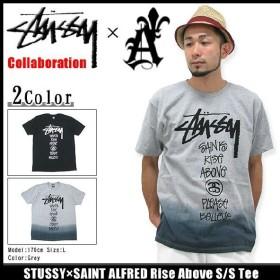 ステューシー STUSSY×SAINT ALFRED Rise Above Tシャツ 半袖 コラボ(stussy tee トップス セイント アルフレッド メンズ・男性用 3902613)