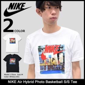 ナイキ NIKE Tシャツ 半袖 メンズ エア ハイブリッド フォト バスケットボール(Air Hybrid Photo Basketball S/S Tee 男性用 847534)