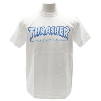 THRASHER HOMETOWN 半袖Tシャツ TH81226WH (Men's)