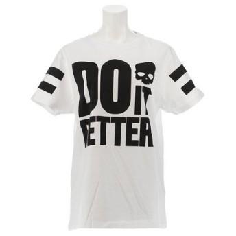 ハイドロゲン(HYDROGEN) 【オンライン特価】 DO IT BETTER Tシャツ RG1002 WHITE (Lady's)
