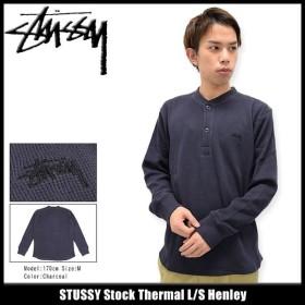 ステューシー STUSSY カットソー 長袖 メンズ Stock Thermal(stussy henley ヘンリーネック サーマル トップス 男性用 114932)