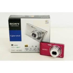 【中古】SONYソニー コンパクトデジタルカメラ Cyber-shotサイバーショット 1410万画素 DSC-W380