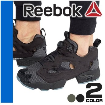 リーボック Reebok スニーカー ポンプ ポンプフューリー メンズ シューズ ローカット 靴 紐なしスニーカー おしゃれ 黒 ブラック INSTAPUMP FURY MTP