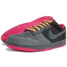 NIKE(ナイキ) DUNK LOW CL Black/Red/Anthracite Rasta Pack
