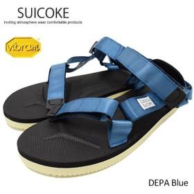 スイコック SUICOKE サンダル メンズ 男性用 DEPA Blue(suicoke DEPA デパ vibram ビブラムソール スポーツサンダル OG-022-17)