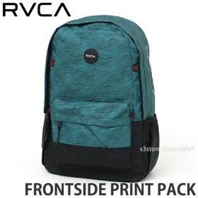 ルーカ ルカ フロントサイド プリント パック RVCA FRONTSIDE PRINT PACK バックパック リュック かばん 鞄 ノートPC収納可能 カラー:TEAL