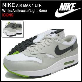 ナイキ NIKE スニーカー エア マックス 1 LTR White/Anthracite/Light Bone 限定 メンズ(男性用) (nike AIR MAX 1 LTR ICONS 654466-103)