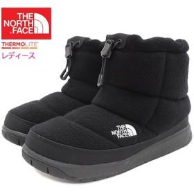 ザ ノースフェイス ブーツ THE NORTH FACE レディース 女性用 ウィメンズ ヌプシ ブーティー ウール 4 ショート TNF Black(NFW51879-KK)