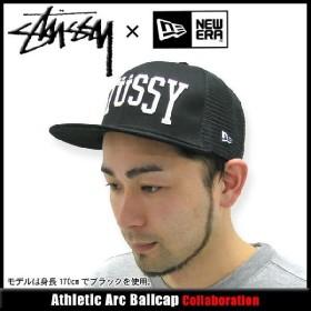 ステューシー STUSSY×NEW ERA Athletic Arc キャップ コラボ(stussy cap 帽子 ニューエラ Wネーム メンズ 男性用 031771)