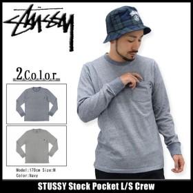 ステューシー STUSSY カットソー 長袖 メンズ Stock Pocket(stussy crew Tシャツ T-SHIRTS トップス ポケット メンズ・男性用 114823)