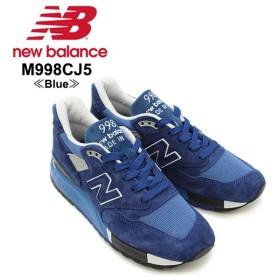 ニュー バランス New Balance  M998 998 Made In USA J.Crew Offer スニーカー  M998CJ5 Blue シューズ メンズ 男性用[CC]