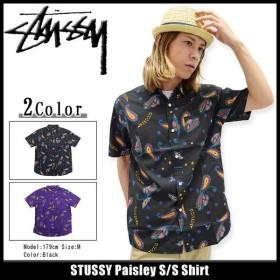 ステューシー STUSSY シャツ 半袖 メンズ Paisley(stussy shirt カジュアルシャツ トップス メンズ・男性用 111799)