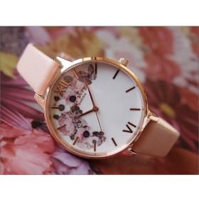 オリビアバートン OLIVIA BURTON 腕時計 OB15WG10 レディース レザーベルト