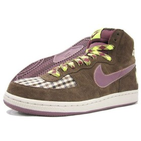 NIKE(ナイキ) TERMINATOR HI Trls End Brown/Rd Oxd Check Pack
