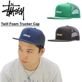 ステューシー STUSSY Twill Foam Trucker Cap キャップ 帽子[BB]