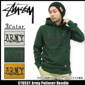 ステューシー STUSSY Army プルオーバー パーカー(stussy hooded sweat フーディ メンズ トップス Hoody Parker 0180118)