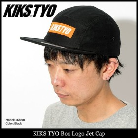 キックス ティー・ワイ・オー KIKS TYO キャップ メンズ ボックス ロゴ ジェットキャップ(Box Logo Jet Cap ローキャップ 帽子 KT1803HW-02)