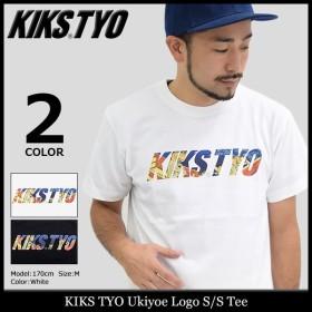 キックス ティー・ワイ・オー KIKS TYO Tシャツ 半袖 メンズ ウキヨエ ロゴ(Ukiyoe Logo S/S Tee カットソー トップス KT1709T-03)