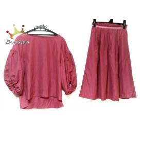 ニーナミュウ ninamew スカートセットアップ サイズF レディース 美品 ピンク   スペシャル特価 20190818