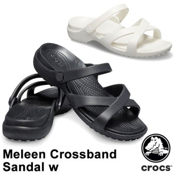 クロックス CROCS メレーン クロスバンド サンダル ウィメン meleen crossband sandal w レディース サンダル[BB]