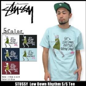 ステューシー STUSSY Low Down Rhythm Tシャツ 半袖(stussy tee ティーシャツ T-SHIRTS トップス メンズ・男性用 1903297)