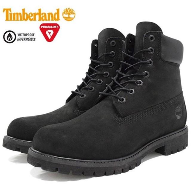 【日本正規品】ティンバーランド ブーツ Timberland 6インチ プレミアム ブラックヌバック(10073 6inch Boot Black 黒 防水 定番)