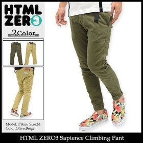 エイチティエムエル ゼロスリー HTML ZERO3 パンツ メンズ サピエンス クライミング(Sapience Climbing Pant ボトムス)