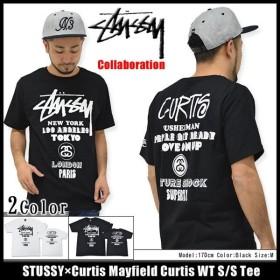 ステューシー STUSSY×Curtis Mayfield Curtis WT Tシャツ 半袖 コラボ(stussy tee カーティス・メイフィールド メンズ・男性用 1903459)