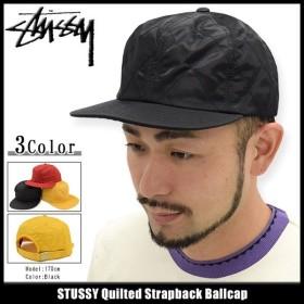 ステューシー キャップ 帽子 STUSSY Quilted Strapback Cap(ストラップバック メンズ・男性用 131623)