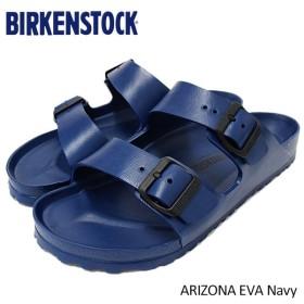 ビルケンシュトック BIRKENSTOCK サンダル メンズ 男性用 アリゾナ EVA Navy(birkenstock ARIZONA EVA 幅広 レギュラー GE129431)