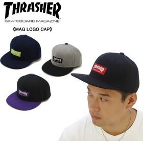 スラッシャー THRASHER  LOGO CAP 17TH-C54  メンズ キャップ 帽子[BB]