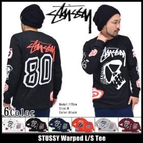ステューシー STUSSY Warped Tシャツ 長袖(stussy tee ティーシャツ T-SHIRTS トップス ロンt メンズ・男性用 1993469)