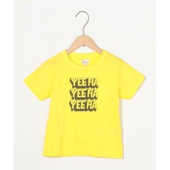 【40%OFF】 コーエン have a good day ロゴTシャツ レディース YELLOW 130 【coen】 【セール開催中】