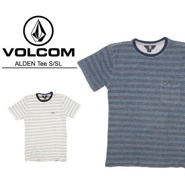 ボルコム VOLCOM  ALDEN Tee S/SL  A0111702  メンズ 半袖 Tシャツ[AA]