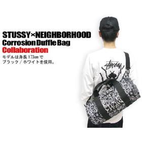 STUSSY(ステューシー)×NEIGHBORHOOD Corrosion Duffle Bag コラボ バッグ