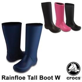 クロックス CROCS  レインフロー トール ブーツ ウィメン rainfloe tall boot w  レディース  女性用[CC]