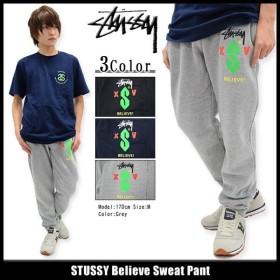 ステューシー STUSSY パンツ メンズ Believe Sweat(stussy pant スウェットパンツ ボトムス メンズ・男性用 195019)