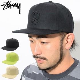 ステューシー キャップ 帽子 STUSSY HO18 Stock Lock Snapback Cap(スナップバック メンズ・男性用 131851 131818 USAモデル 正規)