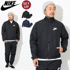 ナイキ セットアップ NIKE メンズ ウーブン ベーシック トラックスーツ ジャケット アンド パンツ(Woven Basic Track JKT & Pant 861779)